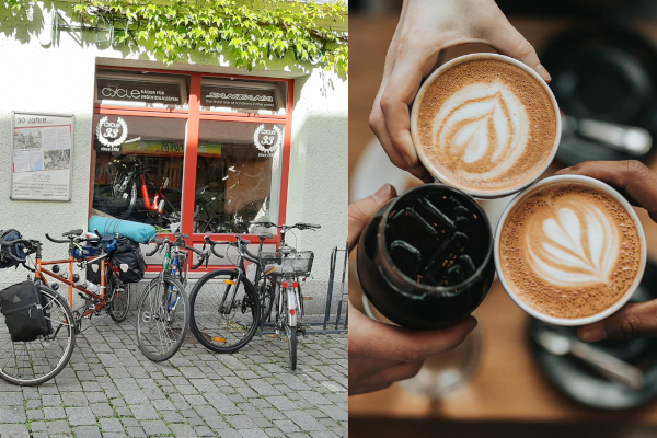 Santana Europe - Bike and Coffee